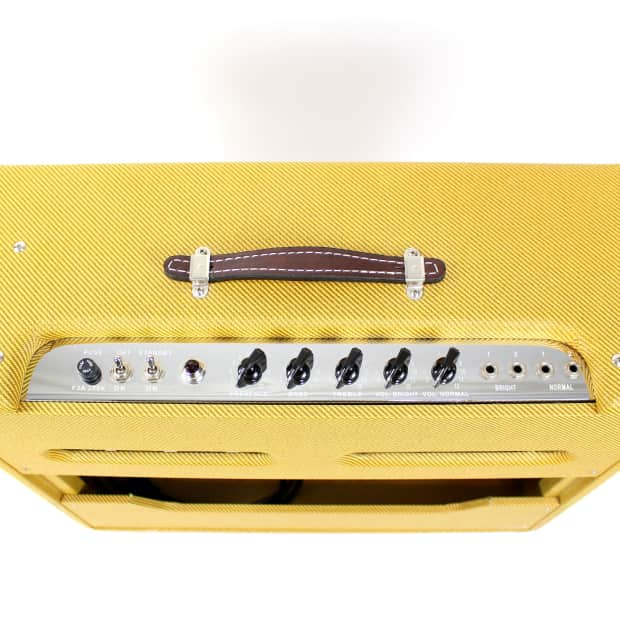 fender pro tube twin amp manual