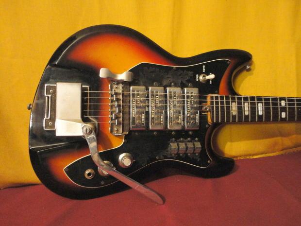 teisco spectrum et 440 vintage 60s electric guitar reverb. Black Bedroom Furniture Sets. Home Design Ideas