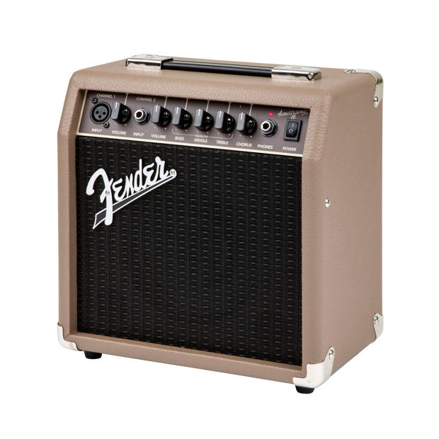 fender acoustasonic 15 watt combo acoustic guitar amplifier pa system 2 channels effects. Black Bedroom Furniture Sets. Home Design Ideas