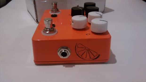 jhs pedals custom 2 in 1 morning glory pulp n peel orange reverb. Black Bedroom Furniture Sets. Home Design Ideas