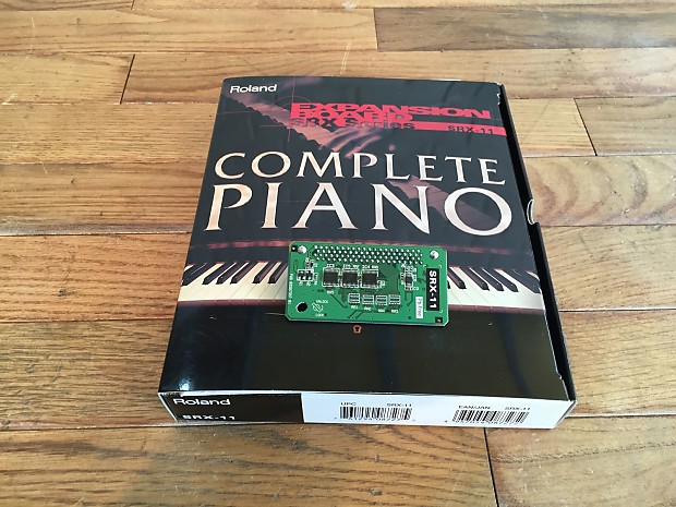 roland srx 11 complete piano synthesizer dsp expansion rom reverb. Black Bedroom Furniture Sets. Home Design Ideas