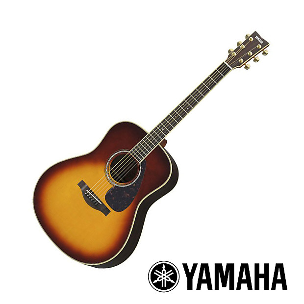 Yamaha ll6 acoustic guitar brown sunburst with case reverb for Yamaha fg830 specs