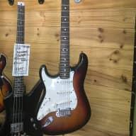 Left Handed Fender Stratocaster 1998 Sunburst