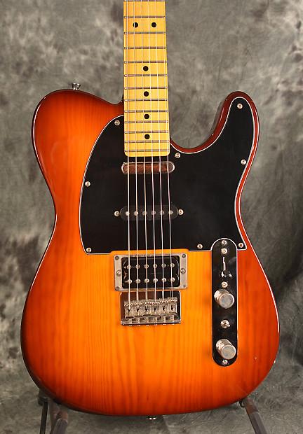 Fender Modern Player Telecaster 3 Pickup Sunburst Gloss w | Reverb