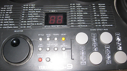 yamaha dd9 drum machine