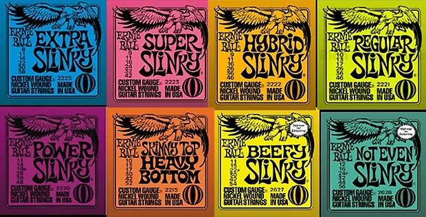 Ernie Ball Slinky 2200 Electric Guitar Strings Reverb