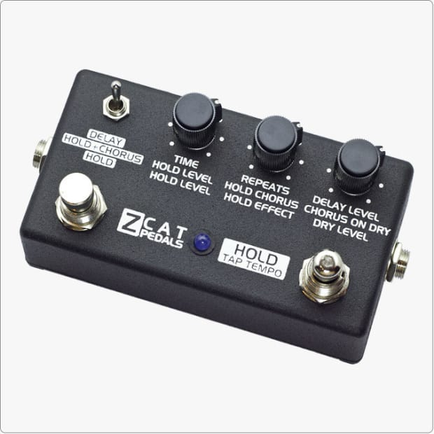 Z Cat Pedals ZCAT Hold-Delay-Chorus...