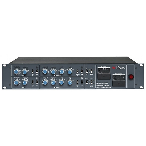 AMS Neve 33609/N Discrete Stereo Limiter / Compressor