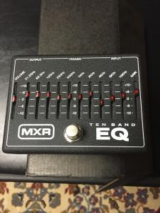 MXR 10 Band Graphic Equalizer 2015 image