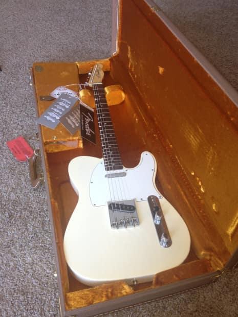 fender american vintage 64 reissue telecaster white blonde reverb. Black Bedroom Furniture Sets. Home Design Ideas
