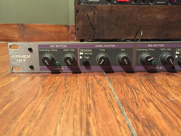 aphex aural exciter type c manual