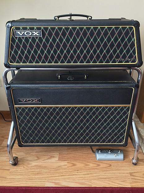 1968 vox v1083 super berkeley iii vintage 60s amplifier w reverb. Black Bedroom Furniture Sets. Home Design Ideas