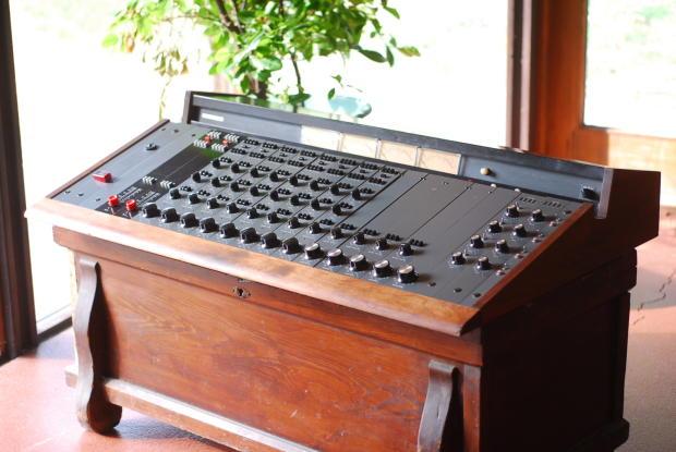 1960 39 s langevin am 4 recording console mixer neve api quad eight reverb. Black Bedroom Furniture Sets. Home Design Ideas