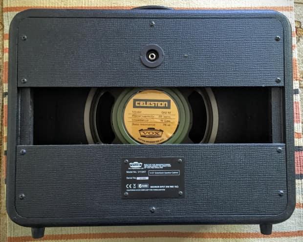 vox night train v112nt 1x12 guitar speaker cabinet cab reverb. Black Bedroom Furniture Sets. Home Design Ideas
