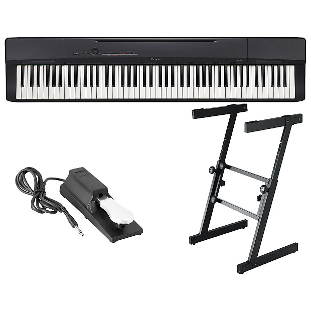 casio px160 88 weighted key digital piano bundle reverb. Black Bedroom Furniture Sets. Home Design Ideas