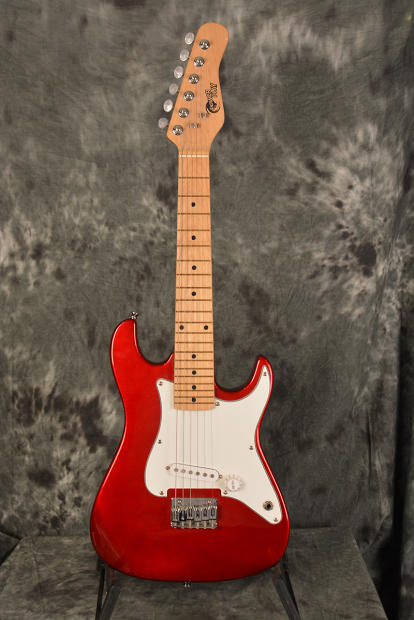 Power Play Child Size Strat Style Electric Guitar Candy