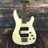 <p>Westone  5 String Bass  Aged White with padded gigbag</p>  for sale