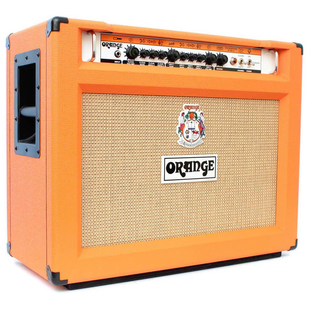 orange rockerverb 50 mkii 2x12 combo amplifier reverb. Black Bedroom Furniture Sets. Home Design Ideas