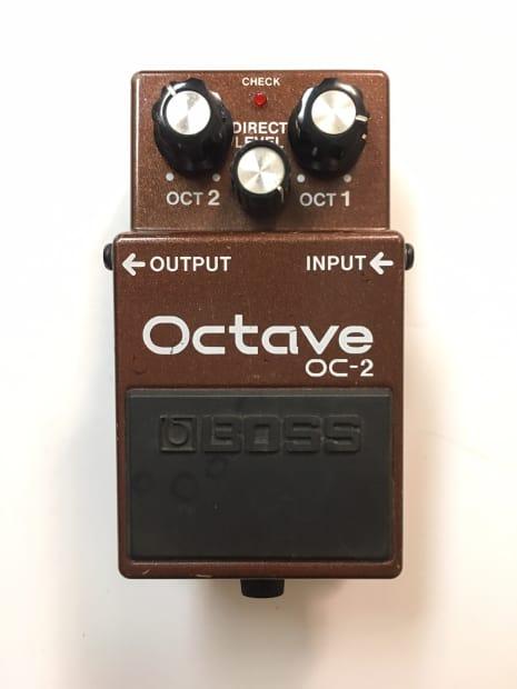 boss roland oc 2 analog octave octaver guitar bass effect reverb. Black Bedroom Furniture Sets. Home Design Ideas