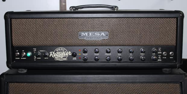 Mesa dual rectifier serial R - The Boogie Board