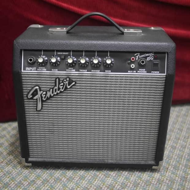 fender frontman 15g guitar amp reverb. Black Bedroom Furniture Sets. Home Design Ideas
