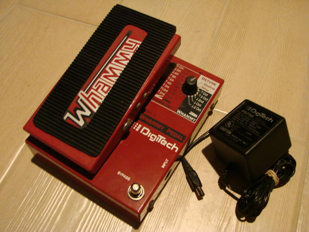 Digitech Whammy Pedal Wh1 1991 Reverb