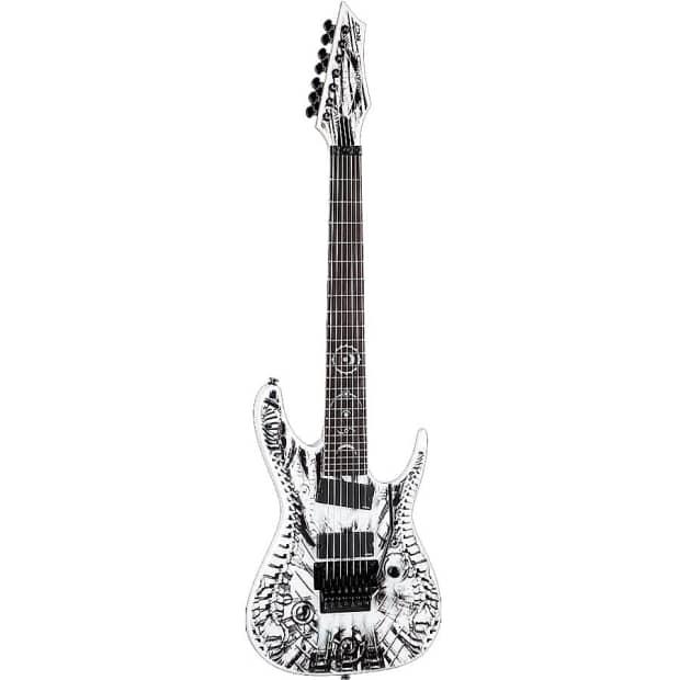 Dean Rusty Cooley RC7X Wraith 7-String Electric Guitar w ...