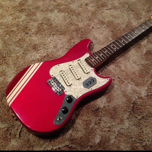 fender cyclone ii 2000 39 s candy apple red competition reverb. Black Bedroom Furniture Sets. Home Design Ideas
