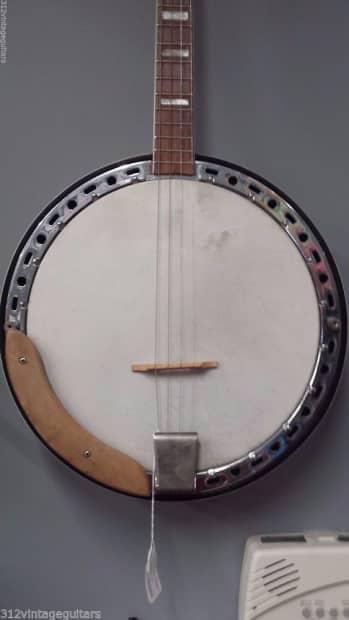 Tenor banjo snowflake resonator vintage