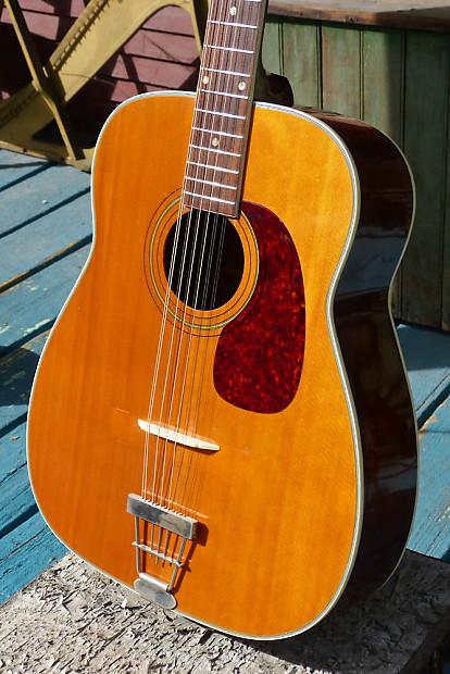 1970 harmony h1270 sovereign 12 string jumbo guitar reverb. Black Bedroom Furniture Sets. Home Design Ideas