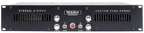 mesa boogie stereo 2 50 power amp 2 50 power amp reverb. Black Bedroom Furniture Sets. Home Design Ideas