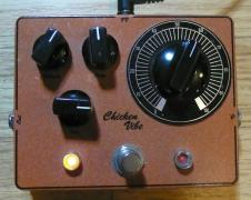 Daniel Zink Danelectro Chicken Salad Vibe Rehoused / Modified Guitar Effects Pedal image