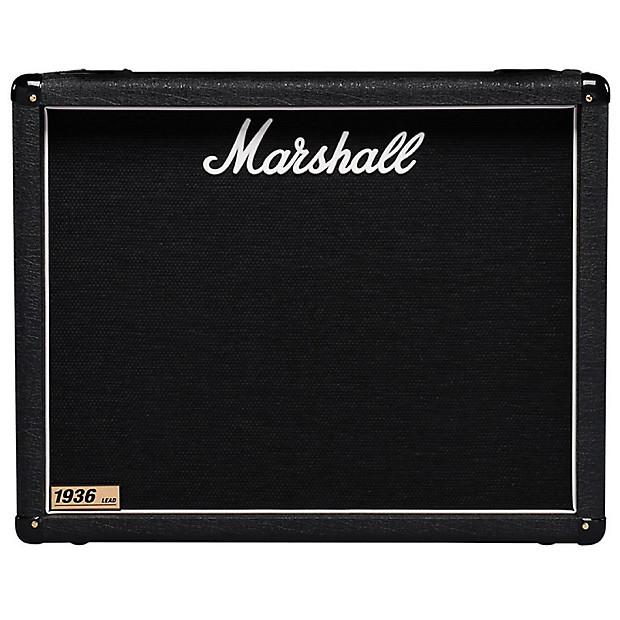 marshall 1936 2x12 150 watt electric guitar speaker cabinet reverb. Black Bedroom Furniture Sets. Home Design Ideas