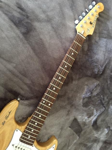 Rock Auto Sales >> G&L Skyhawk Leo Fender Signature 1989 Natural | Reverb
