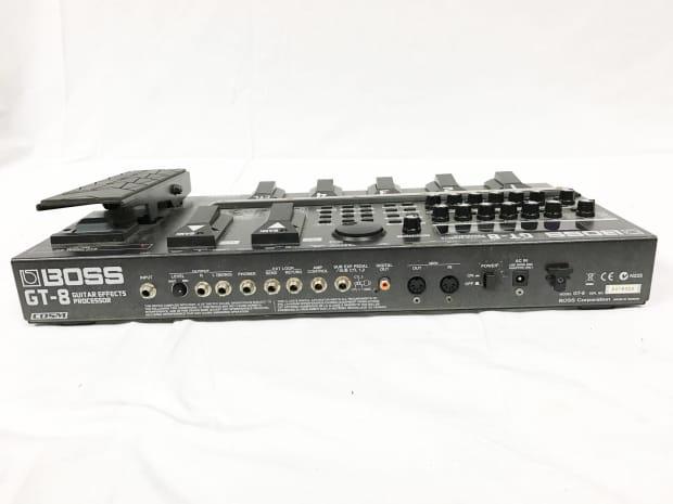 boss gt 8 guitar effects processor w power supply reverb. Black Bedroom Furniture Sets. Home Design Ideas