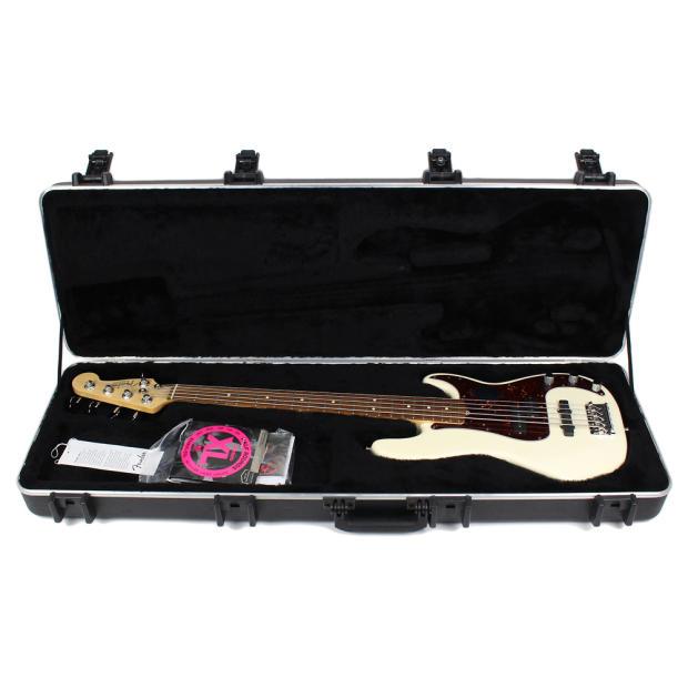 2012 fender american standard modified precision bass w bartolini j bass pickup in olympic. Black Bedroom Furniture Sets. Home Design Ideas