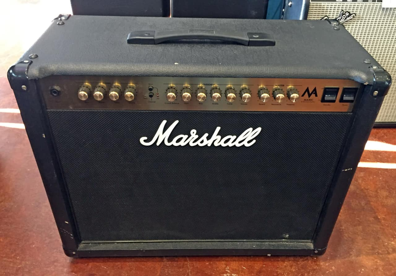 marshall ma series ma50c 50w 1x12 tube guitar combo amp reverb. Black Bedroom Furniture Sets. Home Design Ideas