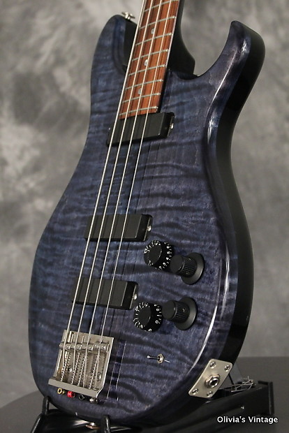 paul reed smith curly string bass 1991 whale blue reverb. Black Bedroom Furniture Sets. Home Design Ideas