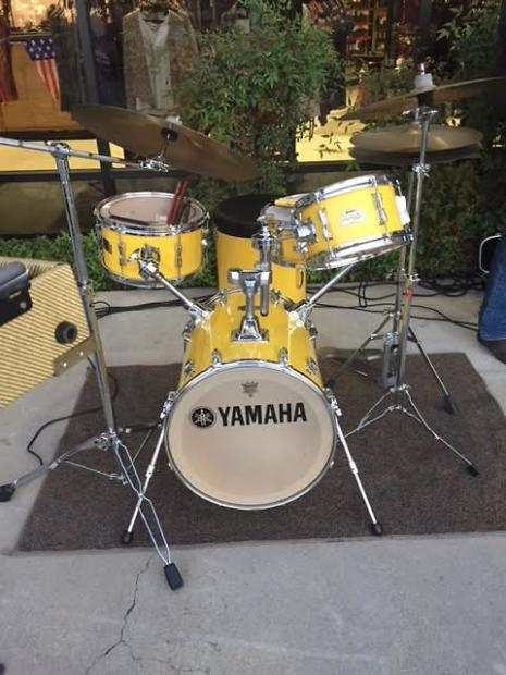Yamaha rick marotta hip gig 5 piece nesting drum kit 2009 for Yamaha portable drums