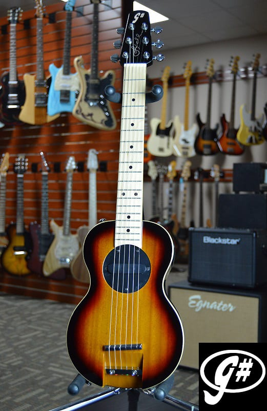 G-Sharp OF-1 Guitar, Three Tone Sunburst