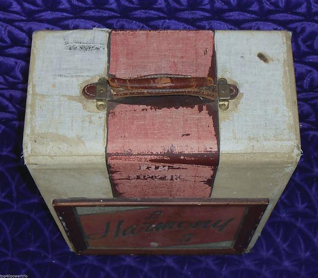 harmony valco silvertone model 200 vintage 1940s tube