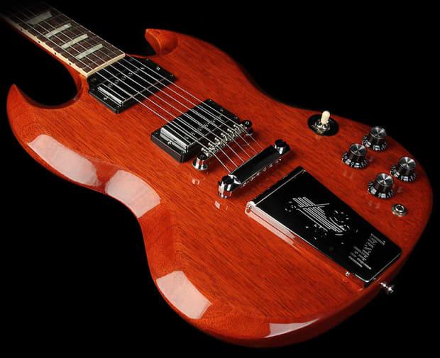 gibson derek trucks signature sg electric guitar vintage red reverb. Black Bedroom Furniture Sets. Home Design Ideas
