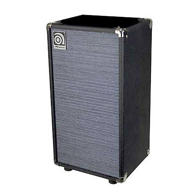 ampeg svt 210av micro bass cabinet 200 watts 2x10 reverb. Black Bedroom Furniture Sets. Home Design Ideas