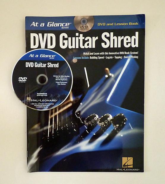guitar shred dvd lesson book at a glance series reverb. Black Bedroom Furniture Sets. Home Design Ideas
