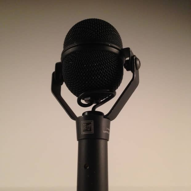 vintage electro voice n d 408 dynamic microphone reverb. Black Bedroom Furniture Sets. Home Design Ideas