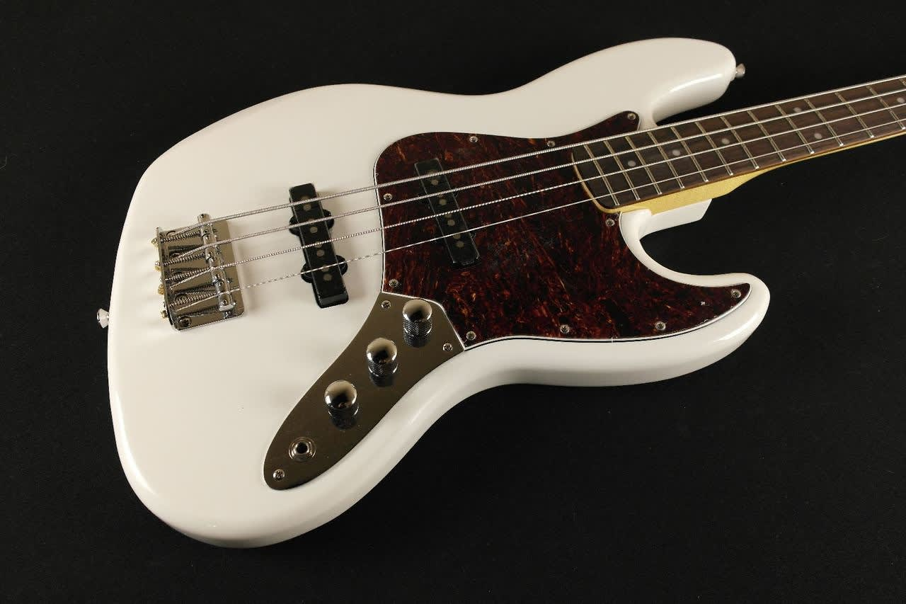 squier by fender vintage modified jazz bass olympic white reverb. Black Bedroom Furniture Sets. Home Design Ideas
