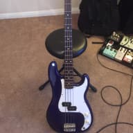 Fender Precision Bass MIM 1996 Midnight Blue