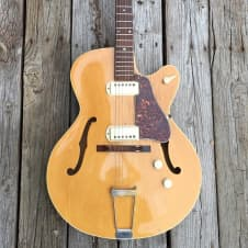 Toscanti Stewart Premier Archtop Electric 1958 Blonde image