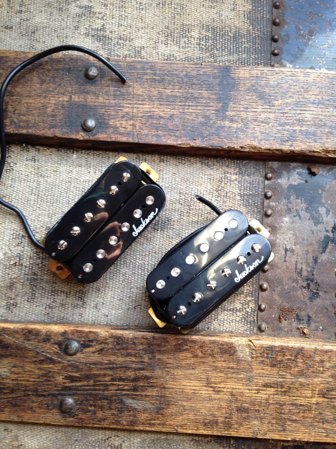 Jackson High Output Ceramic Humbuckers Black Reverb