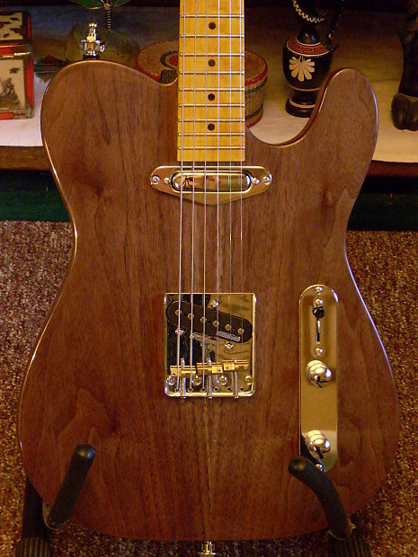 custom built telecaster style partscaster electric guitar reverb. Black Bedroom Furniture Sets. Home Design Ideas